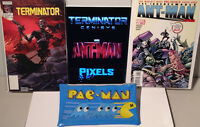 Terminator Ant Man #1 Comic Book Pac Man Pencil Case