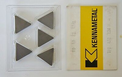 Kennametal Tpg 432 Carbide Cutting Inserts K21 Grade