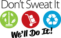 Don't Sweat It – Moving, Junk Removal & Recycling Service
