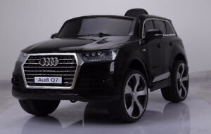 AUDI Q7 style ride on car/available in BLACK, WHITE and RED