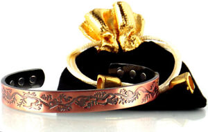 Brand New Copper Magnetic Bracelet for Magnetic Therapy (Jungle)