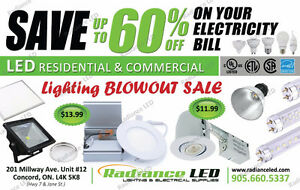 POTLIGHTS / LED BULBS / ELECTRICAL SUPPLIES BLOWOUT PRICES !!