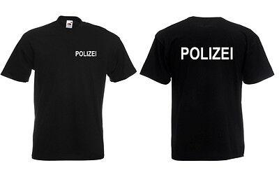 POLIZEI Kinder T-Shirt 116-140 hochwertiger Druck POLIZEI  Karneval Kostüm