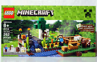 NEW MINECRAFT LEGO SET 21114 - THE FARM - 262 PIECES - SEALED