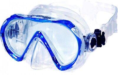 AQUAZON BEACH Taucherbrille Schnorchelbrille Schwimmbrille Kinder 7-14 Jahre