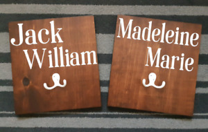 Personalized back pack hooks!