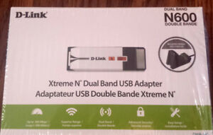D'Link Xtreme N Dual Band USB Adapter DWA-160