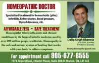 Homeopath Medicine and Services