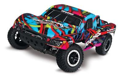Traxxas Slash 2wd VXL 1/10 Brushless Short Course Hawaiian RTR 58076-4