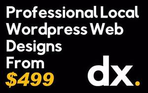 $499 Professional & Locally Made Wordpress Websites Westmead Parramatta Area Preview