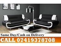 YUNG PRICES 50% OFF ON SALE-----FOR CARLOZ WHITE AND BLACK3 AND 2 SEATER SUITE