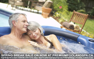 Spring Break Hot Tub Sale!