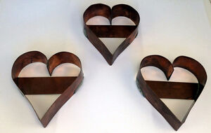 Handcrafted Copper Cookie Cutters
