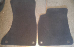 PREMIUM CARPETED FRONT FLR MATS FOR AUDI A4/A5/S4/S5 Gently Used
