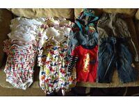 9-12 month baby boy clothes bundle