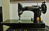 1957 Singer Sewing Machine Body (missing parts) Model 221