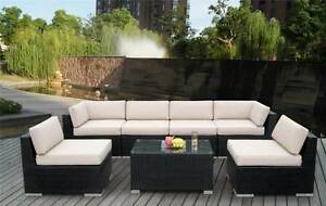 Brand New Wicker rattan outdoor sofa lounge PRE_ASSEMBLED Auburn Auburn Area Preview