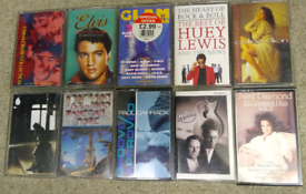 Selection of Music Cassettes