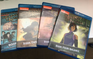 Avatar - The Legend of Korra - Complete Series S1-4 Blu-Ray