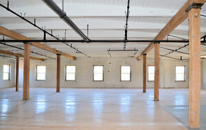 Brick & Beam Office & Cafe Space on Grand River in Downtown Galt