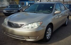 2005 Toyota Camry LE - Good in Gas - 4 Cylinder