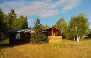 Nature Cottage/Cabin on Sleeping Giant near Thunder Bay w Sauna