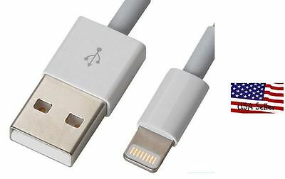 8 Pin To Usb Cable Charger Cord Iphone 5 5g Ipad4 Ipad Mini Usa