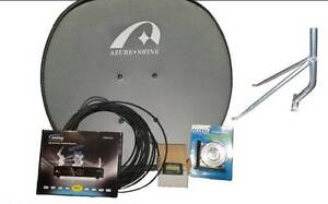 DIY House VAST Sat TV Kit to suit rural Australia or blackspot Osborne Park Stirling Area Preview