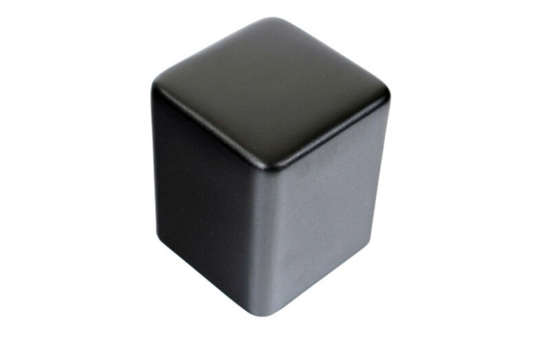 107x107x115mm Black Metal Transformer Triode Cover Chassis Enclosure Case