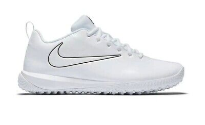 NEW WOB Nike Vapor Varsity Low Turf LAX White 923492-110 Mens Sz  7