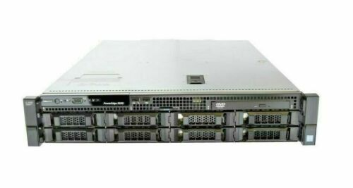 "DELL R530 8x3.5""  2.4ghz 6Core 16G PERC H730 750W PS iDrac8 Enterprise -Dim LED"
