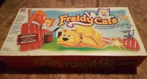 Vintage. Fraidy Cats Board Game 1995 by Milton Bradley