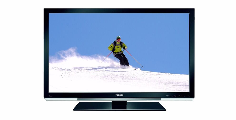 Toshiba 42 Inch Led Tv 1080p Full Hd Ultra Slim With Freeview 4x