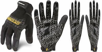 Ironclad Box Handler Work Gloves Bhg Extreme X-large Blackyellowgrey