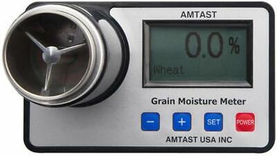 Amtast Smart Moisture Meter Portable Tester For Different Kinds Of Beans Grains