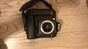 Nikon D90 with 50mm and kit lens