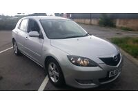 2005 MAZDA 3 TS, 1.6 petrol, silver, 106 000 miles, 12 months MOT, 2 OWNERS FROM NEW ! - BARGAIN !
