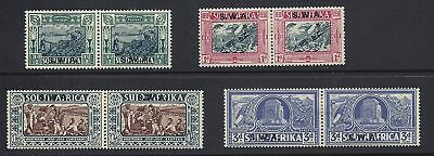 South West Africa 1938 Scott B5 8 Pairs F Vf Mh