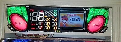 BATTLE COUNTER Pachinko Machine Japanese Slot Arcade Game DATA LED Big WOOZ