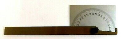 4901-0006 Square Head Locking Protractor 0 To 180 W 6 Arm