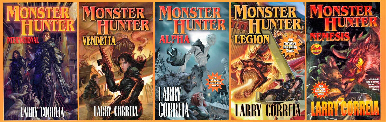 "Image for ""Monster Hunter 1-5 MMP by Correia, Larry"""
