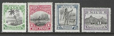 NIUE :1925-7 Pictorial definitives -wmk and new values  SG44-7 MNH
