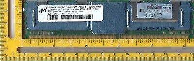 - Micron 1GB 240p PC2-5300 CL5 18c 64x8 Fully Buffered ECC DDR2-667 2Rx8 FBDIMM HP