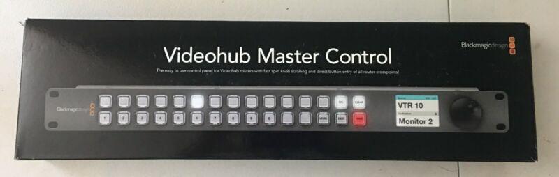 Blackmagic Design Videohub Master Control (VHUB/WMSTRCRL)