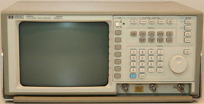 Agilenthp 54502a Option 001 Digitizing Oscilloscope 400mhz