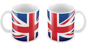 UNION JACK Flag Mug Gift Idea for Christmas Holiday Cup UK England British