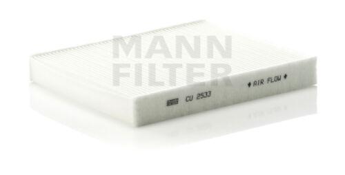 Cabin Air Filter MANN CU 2533-2