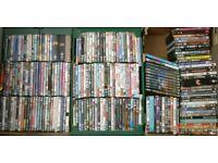 Huge job lot of DVDs - well over 200 discs