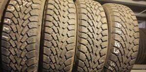 Winter tires goodyear nordic 175/65r14 like  new