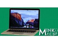 "2.6Ghz 13"" Retina Apple MacBook Pro Core i5 8GB 256GB SSD Sibelius Logic Pro Izotope Native Massive"